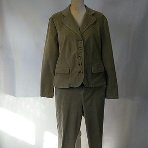 St John's Bay Corduroy Jacket & Pants